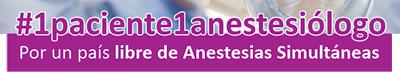 1 Paciente 1 Anestesiólogo
